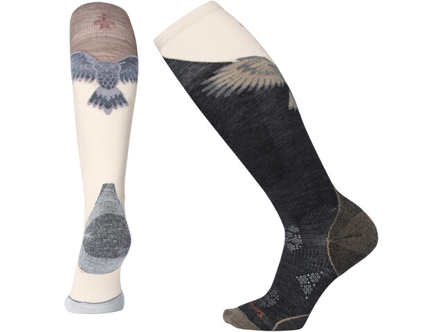 Smartwool PhD Pro Calcetines Freeski Mujer, charcoal